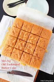 Mrs Ng Old Fashioned Butter Cake Daily Cooking Quest