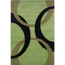 rugs kids area rug in lime and black