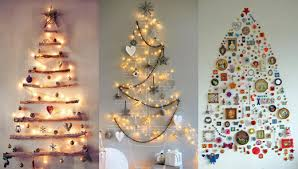 38 Fabulous DIY Christmas Trees That Arenu0027t Actual TreesChristmas Trees That Hang On The Wall