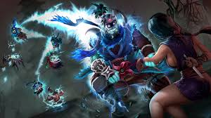 photo dota 2 axe silencer storm spirit death prophet templar
