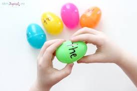 word easter egg easter egg sight word sort