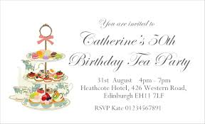 40 Personalised Magnetic Afternoon Tea Party Invitations For 18th 21st 30th 40th 50th 60th 70th 80th Or Any Age Birthday Party Invites