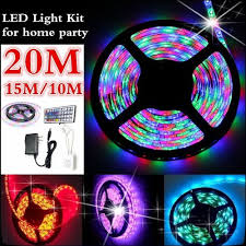 10m 3528 smd rgb 600 led strip light