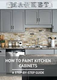 diy kitchen cabinets painting how to paint kitchen cabinets a step by step guide 2 diy