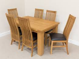 dining room glamorous oak dining room chairs solid wood construction natural oak finish high slatted back