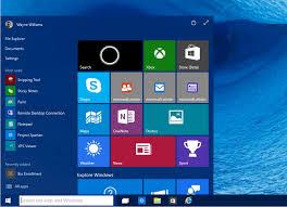 Microsoft Menu Microsoft Confirms The Windows 10 Start Menu Will Be Resizable