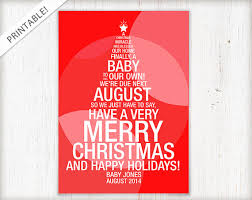 Christmas Birth Announcement Ideas Creative And Fun Pregnancy Announcement Ideas