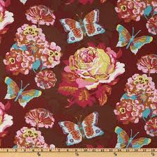 42 best Fabric I Own images on Pinterest | Quilting fabric, Fabric ... & 1 yard Lou Lou Thi - Clippings by Anna Maria Horner for Westminster Fabrics  - Quilting weight - LAST YARD Adamdwight.com