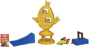 Amazon.com: Angry Birds Go! Jenga Trophy Cup Challenge Game: Toys & Games