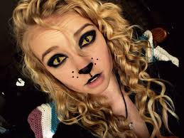 i am thinking about doing this love the contacts make it a scary cat