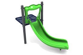 curved slide left curved slide play park structures