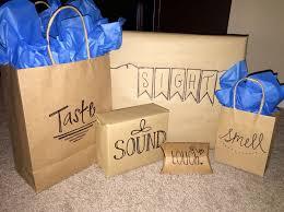 5 senses gift idea for the friend family member or boyfriend boyfriend presentsdiy birthday