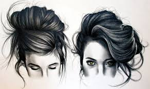 1280x758 realistic hair sketches how to draw black hair