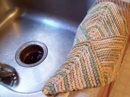 Free Knitting Patterns For Dishcloths Delectable Free Knit Pattern FourSquare Mitered Dishcloth Kayla K's Thrifty
