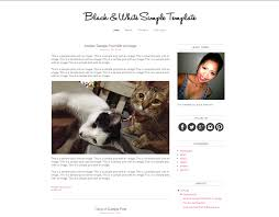 Layout Minimalista Blogger