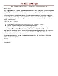 Software Developer Cover Letter Tomyumtumweb Com