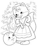 Сказки в раскрасках для малышей