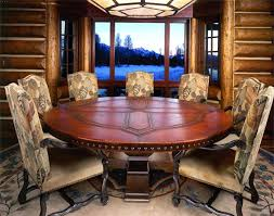 what size round table seats 8 round table seats 8 diameter what size round dining table