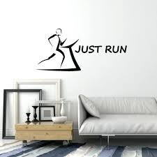 stand principle quote wall decal. Sport Wall Vinyl Decals Decal Just Run Phrase Running Runner Gym Decor Quote . Living Room Stand Principle