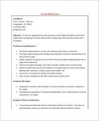Sample Resume Summary For Freshers Resume Layout Com