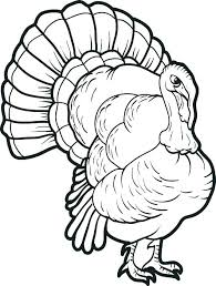 Happy Thanksgiving Turkey Coloring Pages Fall And Home Improvement
