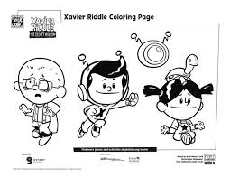 Our free coloring pages for adults and kids, range from star wars to mickey mouse. Xavier And Friends Coloring Page Kids Pbs Kids For Parents