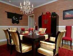 oriental bedroom asian furniture style. Red And Black Dining Room With Asian Style [Design: Larisa McShane] Oriental Bedroom Asian Furniture D