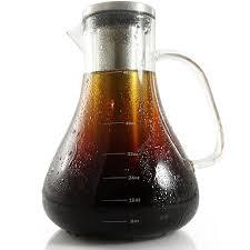 iced coffee gl pitcher 32oz with