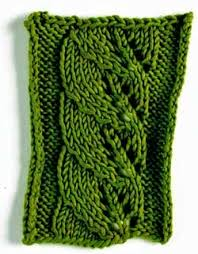 Leaf Knitting Pattern Simple Nature In Knitting Leaves Interweave