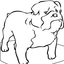Small Picture Bulldog Coloring Pages To And Print For adult