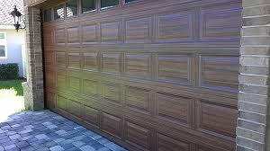 Painted Wood Garage Door Tutorial Everything I Create Paint Doors To Intended Modern Design