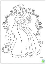 Disney Christmas Coloring Pages Printable World Swifteus