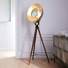 wooden tripod floor lamp full size of decorating tripod cinema floor lamp designer tripod floor lamps