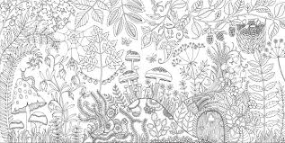 Small Picture Johanna Basford Enchanted Forest Secret Garden Addictive