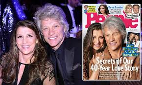 Jon bon jovi's wife, dorothea hurley attended sayreville war memorial high school, located in parlin, new jersey. Jon Bon Jovi And His Wife Dorothea Still Enjoy Each Other And Want To Hang Out After 40 Years Daily Mail Online