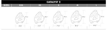 Tyr Size Chart Catalyst 2 Training Paddles