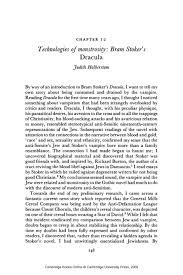 technologies of monstrosity bram stoker s <i>dracula< i technologies of monstrosity bram stoker s <i>dracula< i>