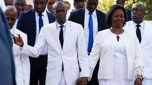 Wife of assassinated Haiti president ...