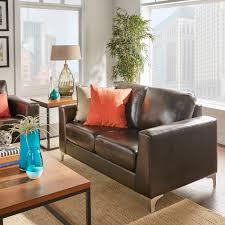Bastian Aniline Leather Dark Brown Sofa iNSPIRE Q Modern - Free Shipping  Today - Overstock.com - 20729827