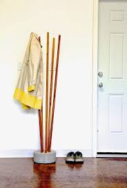 Diy Standing Coat Rack 100 DIY Coat Racks And Hooks For Every Space Shelterness 12