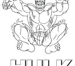 Coloring Pages Free Hulk Coloring Pages Incredible Page Red Hul