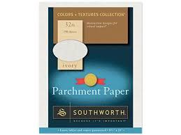 Southworth J988c Parchment Specialty Paper 32 Lbs 8 1 2 X 11 Ivory 250 Box Newegg Com