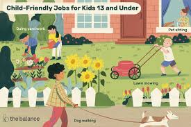 babysitting jobs for 13 best jobs for kids under 13