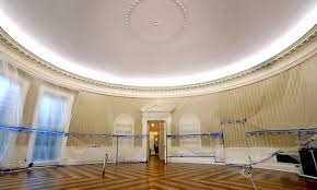 white house oval office. In Pictures: The Oval Office And West Wing After Renovations At White House U