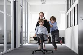 kids office. Bringing Kids To Work? Is It Appropriate? Office