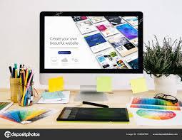 Desktop Design Stationery Desktop Design Stuff Computer Graphic Tablet