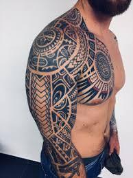 Maori Tetování Jako štít