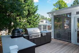 screened porch danver outdoor kitchen