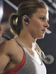 bose wireless headphones on person. bose soundsport free wireless headphones on person