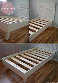 diy bed frame easy